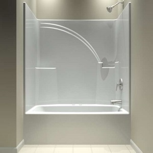 Shower and Bathtub